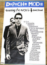 Depeche Mode Touring The Angel 2005 promo poster