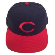 Cleveland Indians New Era 59Fifty On Field Alternate Wool Fitted 7 1/8 Cap Hat