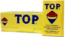 10 x TOP Cigarette Rolling Paper 100 Papers per Booklet - Free Express Shipping