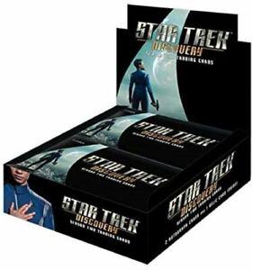 Rittenhouse Star Trek Discovery Season 2 Sealed Trading Card Box W/ Album Combo