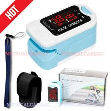 Contec CMS50M LED Fingertip Pulse Oximeter SPO2 Blood Oxygen Monitor PR HR+Case
