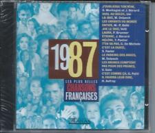 CD Les plus belles chansons françaises 1987 neuf sous cellophane