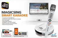 2018 Magic Sing E2 WiFi streaming Wireless Karaoke Mic FREE 12000 ENGLISH songs