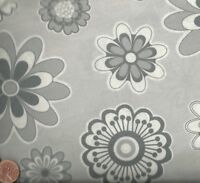 Paparazzi gray floral Red Rooster fabric
