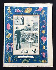 Théâtre ROBERT HOUDIN / PRESTIDIGITATION Série complète 12 Protège-Cahier 1895