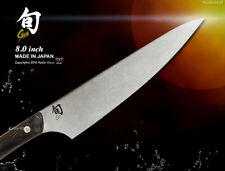 Shun-Kanso Chef's Knife 8 inch Handcrafted Made in Japan Kai Kitchenware New