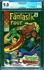 Fantastic Four #63 CGC 9.0 -- 1967 -- Sandman Blastaar Triton #1969775003