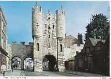 Yorkshire Postcard - York - Micklegate Bar - Ref ZZ4974