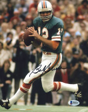 """(SSG) BOB GRIESE Signed 8X10 Color """"Miami Dolphins"""" Photo with a BAS/Beckett COA"""