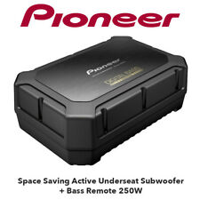 Pioneer TS-WX400DA - Space Saving Active Underseat Subwoofer + Remote 250W