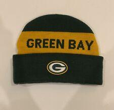 Green Bay Packers Go Pack Go! Beanie. Reebok Team Apparel
