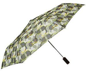 "Totes Light N'Go Traveler Umbrella With Push Open/Close Outdoor Circle - 43"""