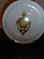 Avon Products Door knocker Second Anniversary Plate By Enoch Wedgwood, England