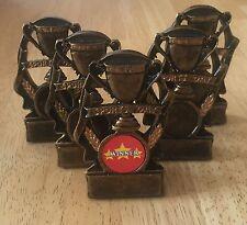 5 X GIORNATA DELLO SPORT trophys 3.5 in (ca. 8.89 cm) Grande Valore