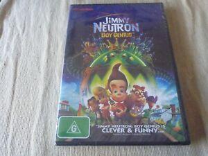 Jimmy Neutron Boy Genius (DVD) Region 4 BRAND NEW SEALED Debi Derryberry