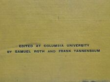 1917 Samuel Roth Frank Tannenbaum THE LYRIC Vol ONE First 6 issues D H Lawrence