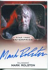 Star Trek Aliens Autograph Mark Rolston as Captain Magh