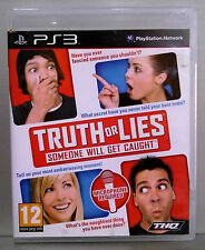 TRUTH OR LIES - PLAYSTATION 3 - PAL EUROPA - CD FISICO