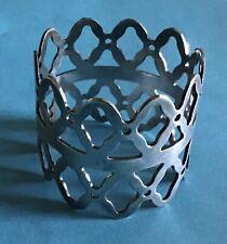 Danish Crown Silver Napkin Ring Serviette Holder