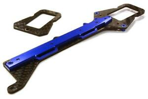 Integy Machined Composite Chassis Upper Plate for LaTrax 1/18 Teton C26498BLUE