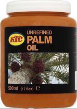 KTC 100% Unrefined Palm Oil 500 ml 500ml Skin, Cosmetic Use