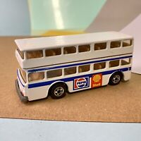 Very RARE hotwheels Blackwall Double Decker Pepsi Bus France, VGC Uncarded