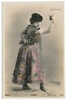 Spanish Dancer Luz Chavita l'Opéra Comique Reutlinger Paris Postcard c. 1904