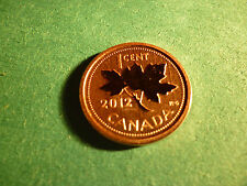 2012 Canada, 1 cent,  Struck with a Satin Specimen Finish.