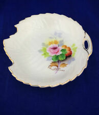 made in japan handpainted nut dish handpainted signed nappy dish made in Japan