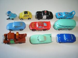 DISNEY PIXAR CARS 3D FIGURINES SET ZAINI - FIGURES TOYS COLLECTIBLES MINIATURES