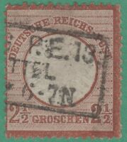 Germany 19a Imperial Eagle 2 1/2 gr 1872  ! Very Attractive !