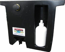 Vehicle Water Tank with soap dispenser (23L) Under tray ute tank BLACK