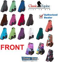 Classic Equine Legacy Boots FRONT LEG BOOTS Sport SMB Horse Tack Patterns Plain