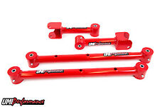 Umi Performance 1978 - 1988 Gm G Body Tubular Upper Lower Control Arms Red