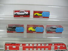 Ak990-0, 5# 5x Herpa h0 automóvil bmw: 031929 528i' 95+021647 740i+021937 z3, Neuw + embalaje original