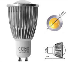Lampada faretto lampadina LED spot GU10 9 Watt 220V luce calda 3000K COB CREE