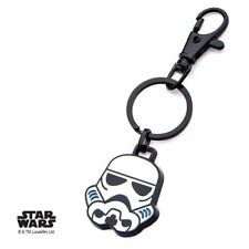 Star Wars Imperial Stormtrooper Key Chain Zipper Pull New Metal Ring Empire