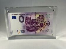 Commemorative 0 Euro Banknote in Beautiful Acrylic Display - Your Choice of Note