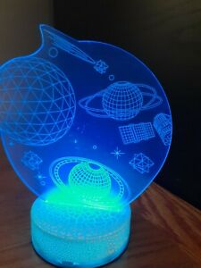 Planet Saturn Night Light Color Change LED night light