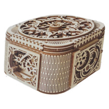 Treasure Box the mechanical puzzle box you build yourself