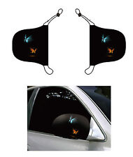 Fire N Ice Butterfly, Car Mirror Cover, Auto Flag, Chroma Covers FPL