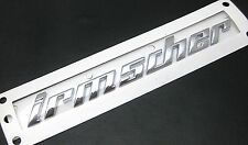 BRAND NEW GENUINE IRMSCHER BADGE CHROME DECAL VAUXHALL OPEL
