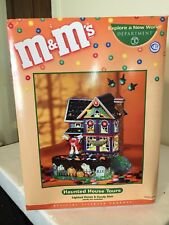 M&M Collectible Dept. 56 Haunted House Tours - Lighted House and Candy Dish