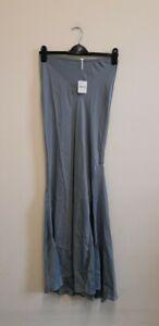 Free People Noa Slip Skirt Grey /Gris size S {R109}