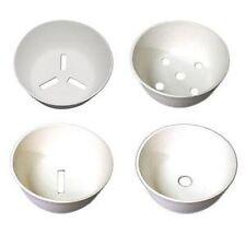 Kiln Glass Fusing Pot Melt Mold Assortment (4 Bowls)