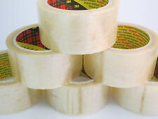 30 x 3M 371 Scotch Transparent Clear Parcel Packing Packaging Tape 48mm x 66m
