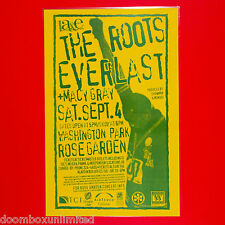 The Roots + Everlast + Macy Gray 1999 Original 11x17 Concert Poster. Portland Or