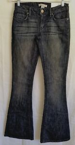 BCBGeneration Jeans Women's 24 Low Rise Medium Wash Sawyer Bell Jeans 28 x 34
