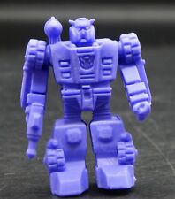Japanese Transformers RED ALERT decoy keshi rubber figure purple Autobot cool !!