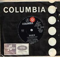 "JOHNNY FARNHAM - SADIE (THE CLEANING LADY) - RARE 7"" 45 SAMPLE VINYL RECORD 1967"